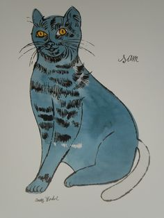 Andy Warhol - Cats - Rare! -