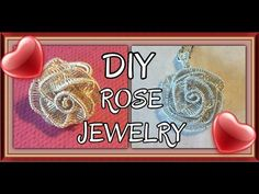 (747) Wire Wrapped Rose - Watch Me Make It! - YouTube