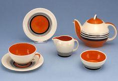 Kestrel tea set - Susie Cooper