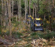 logging equipment | Timber & Biomass Demo Log Projects, Logging Equipment, Vietnam War, Farming, Tractors, Industrial, Trucks, Rustic, Antique