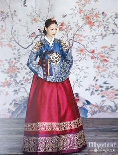 Hanbok korean traditional clothes my wedding