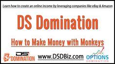 How to Make Money With Monkeys and DS Domination https://www.youtube.com/watch?v=LsHGPTozdHE&utm_content=buffer7673b&utm_medium=social&utm_source=pinterest.com&utm_campaign=buffer #ebay #amazon #dropshipping #ecommerce #training
