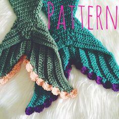 Crochet Mermaid Blanket Tutorial Youtube Video Diy Mermaid