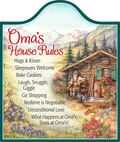 Ceramic Cheeseboard: Oma House Rules – DutchGiftOutlet