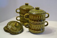 Hey, I found this really awesome Etsy listing at https://www.etsy.com/listing/184403564/retro-royal-sealy-lidded-bowls-set-of