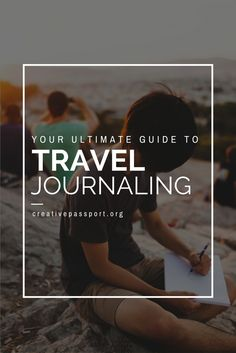 Click the link to follow along with our Ultimate Guide to Travel Journaling - Creative Passport Travel Journal Series. Get creative with these awesome prompts!