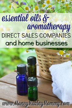 Essential Oil Business and Aromatherapy Direct Sales (List)