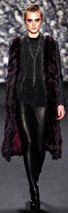 Fall 2014 Ready-to-Wear Nicole Miller #PurelyInspiration #NYFW