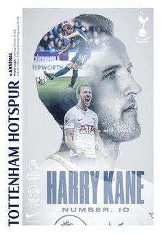 Programme for Spurs v Arsenal. Football Awards, Football Program, Football Players, Academy Logo, Soccer Academy, Tottenham Hotspur Football, Harry Kane, Sports Magazine, British Boys