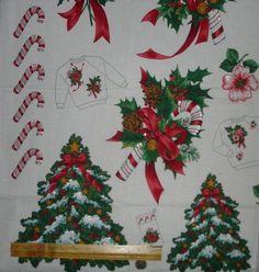 Up to Craft Fabric Panels Christmas Fabric Panels, Christmas Stockings, Christmas Sweaters, Ugly Xmas Sweater, Fabric Stars, Ugly To Pretty, Christmas Applique, Applique Fabric, Xmas Tree