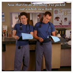 Jd and Dr Cox. Scrubs