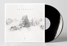 Sky Rocks Album Art by Nicholas Thompson, via Behance