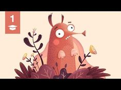 Dan's illustration tutorial #01 Grain and noise texture - YouTube