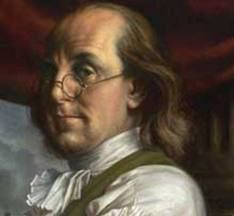 """""""A penny saved is a penny earned."""" - Benjamin Franklin"""