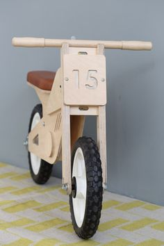 Toby Kids Bike // Children's Balance Bike // Pedersen + Lennard