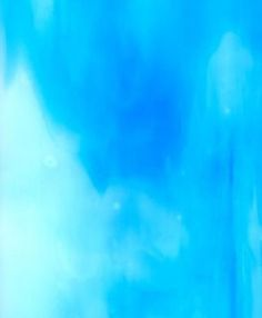 Sky Blue, Opal Sheet Glass Samples | Kokomo Opalescent Glass