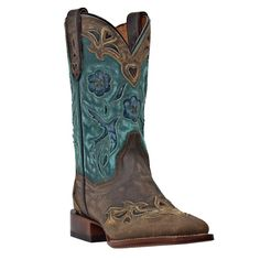 Dan Post Women's Cowgirl Certified Blue Bird Square Toe Western Boots pretty sure these are the ones!