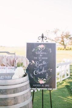 Simples y perfectos para una boda boho - Carteles de Bodas
