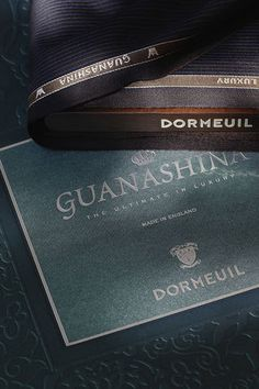Dormeuil Guanashina - The Ultimate in Luxury