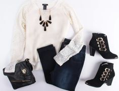 Going professional? Or classy casual this deb shops outfit is perfect.