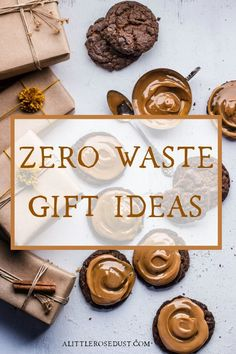 Zero Waste Gift ideas - A little Rose Dust The last thing people want for Christmas is more junk. This year, give something more meaningful to both the one receiving and to the planet with these thoughtful zero waste gift ideas! Christmas Hanukkah, Christmas Time, Green Christmas, Christmas Ideas, Zero Waste Store, Gold Tissue Paper, Waste Reduction, Gold Christmas Decorations, Little Rose
