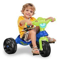 Triciclo Bandeirante Kid Cross. R$28.29