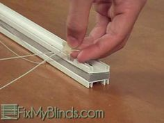 Restring a Verosol Pleated Shade - Fix My Blinds.com