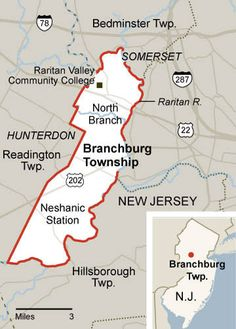 Branchburg is centrally located close to major highways (Routes 22 and 202, Interstates I 78 and I 287. Bus service to Manhattan is available on a daily basis and New Jersey Transit offers rail service from Branchburg to Newark, where connections can be made to New York City. Newark International Airport is approximately 35 miles northeast of Branchburg.