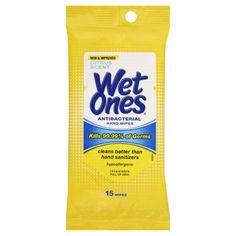 Wet Ones Hand Wipes, Antibacterial, Citrus Scent