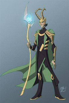 The Avengers Loki by EricGuzman on deviantART