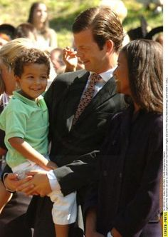 Real Life Princess & Prince and their Beautiful Biracial Son...The Interracial Royal Wedding. Prince Maximilian and Princess Angela of Liechtenstein | Sol Fusion