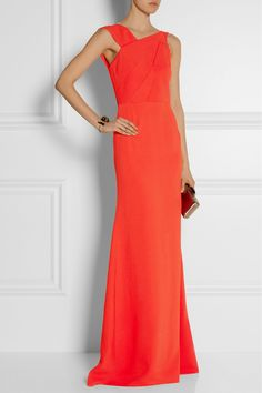 Roland Mouret Parham crepe gown NET-A-PORTER.COM