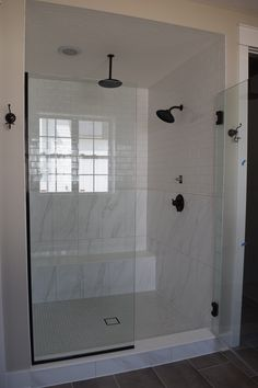 Get the look! This shower has a gorgeous tile on the walls and floor | RiteRug Flooring | Bathroom Ideas | Home Decor Ideas