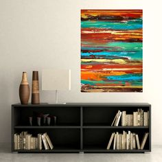 Art Abstract Acrylic Original Painting Fine Art от OraBirenbaumArt