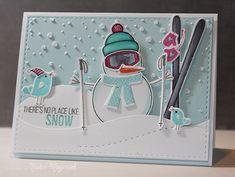 Adore the card by Nichol Magouirk using brand new Simon Says Stamp from the Cold Hands Warm Heart release. October 2014