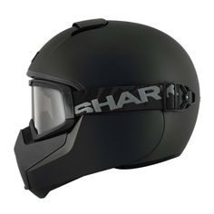 Shark Vancore Helmet - Mat Black   Full Face Motorcycle Helmets   FREE UK delivery - The Cafe Racer