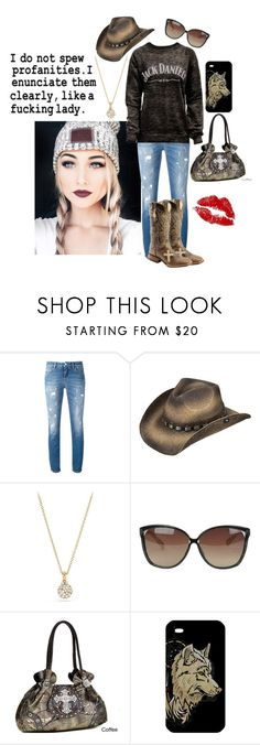 """I'm a lady"" by not-your-southern-bell ❤ liked on Polyvore featuring Dolce&Gabbana, Ariat, David Yurman, Linda Farrow, Dasein and SkinCare"