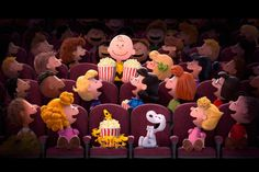 The Peanuts Movie sneak peek: The Peanuts gang featuring Charlie Brown, Snoopy, Peppermint Patty, Lucy, and Woodstock Peanuts Snoopy, Die Peanuts, Peanuts Movie, Peanuts Characters, Disney Characters, Peanuts 2015, Peanuts Images, Peanuts Comics, Peanuts Cartoon