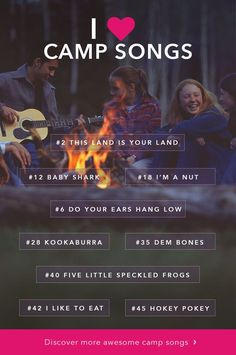 camp songs for kids