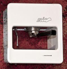 Vintage Espresso Machine // Nuova Simonelli // Mia // White