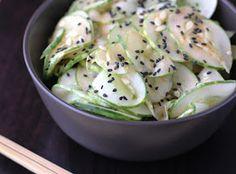 Fake Food Free: Spicy Sesame Cucumber Salad Recipe