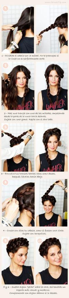 Peinados Medievales para mujeres