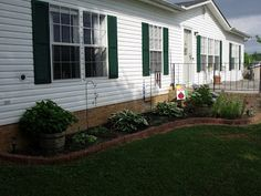 Landscaping pictures for mobile homes