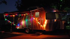 Airstream with twinkle