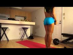 ▶ Girls 5 Day Butt Workout Plan: Day 5 - YouTube