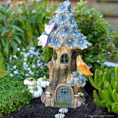 Solar Fairy Homes Archives - Fairy Gardening Australia