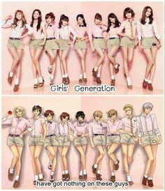 Looks like girls generation has turned into boys generation/hetalia generation. Hetalia Anime, Hetalia Funny, Spamano, Usuk, Grimgar, Hetalia Axis Powers, Funny Cute, That's Hilarious, Memes