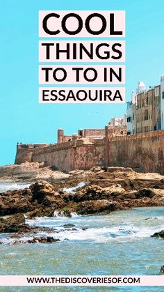 Essaouira is one of Morocco's coolest spots. Planning to travel to Essaouira? These are the best things to do, places to eat and stay for your trip. Mozambique Beaches, Malta Beaches, Attractions In Jamaica, Stuff To Do, Things To Do, Spanish Islands, Railay Beach, Morocco Travel, Short Break