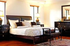 Philippine-made pieces and antique finds add vintage charm to a modern house in the city Modern Asian, Bedside Lamp, Filipino, Art And Architecture, House Tours, Bungalow, Philippines, Bliss, Master Bedroom