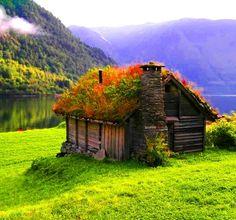 Beautiful cottage, Norway